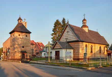 Zabytkowy Kościół w Medyce